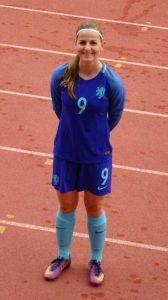 Oud-speelster TVC'28 - Pien Hindriksen - Nederland onder 16